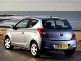 Hyundai i20 3-door UK-spec 2009 images