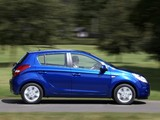 Hyundai i20 5-door Blue Drive UK-spec 2010 pictures