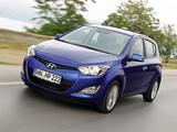 Hyundai i20 5-door 2012 images