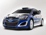 Images of Hyundai i20 WRC Prototype 2012