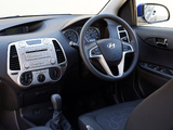 Photos of Hyundai i20 5-door Blue Drive UK-spec 2010