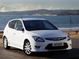 Hyundai i30 UK-spec (FD) 2007–10 images
