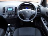 Hyundai i30 UK-spec (FD) 2007–10 pictures