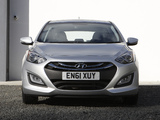 Hyundai i30 5-door UK-spec (GD) 2012 photos