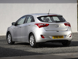 Hyundai i30 5-door UK-spec (GD) 2012 pictures