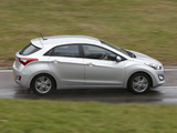 Images of Hyundai i30 5-door UK-spec (GD) 2012