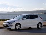 Photos of Hyundai i30 UK-spec (FD) 2007–10