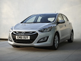 Pictures of Hyundai i30 5-door UK-spec (GD) 2012