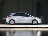 Hyundai i30 5-door UK-spec (GD) 2012 wallpapers