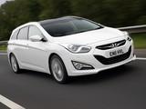 Hyundai i40 Wagon UK-spec 2011 images
