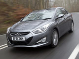 Hyundai i40 Sedan UK-spec 2012 images