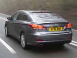 Hyundai i40 Sedan UK-spec 2012 pictures
