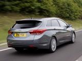 Images of Hyundai i40 Wagon UK-spec 2011