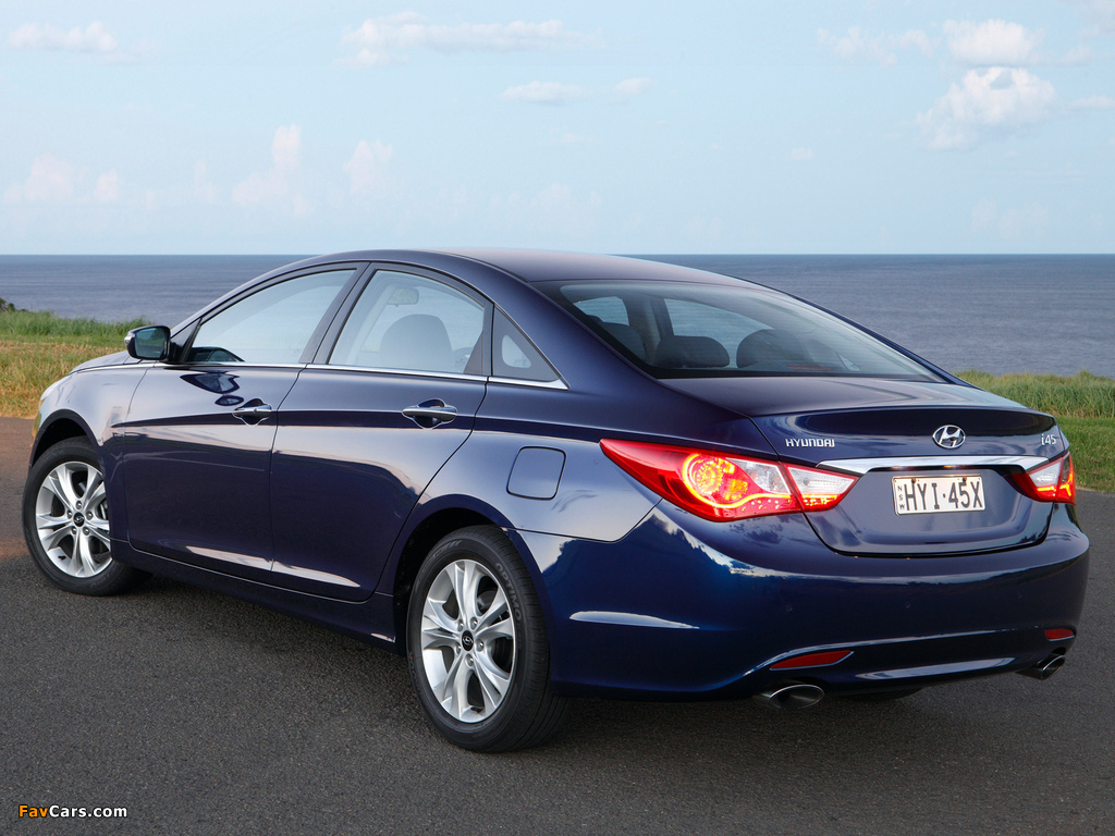 Photos of Hyundai i45 (YF) 2010 (1024 x 768)