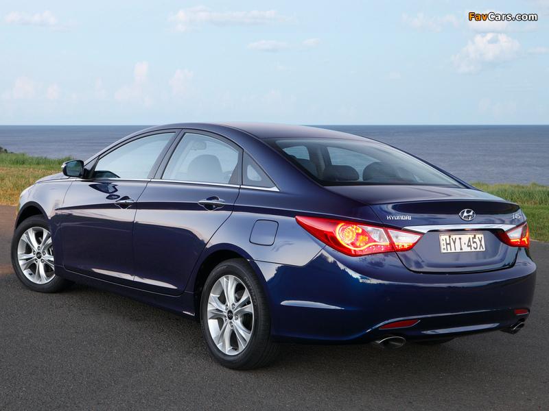 Photos of Hyundai i45 (YF) 2010 (800 x 600)