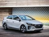 Images of Hyundai IONIQ plug-in hybrid North America 2017