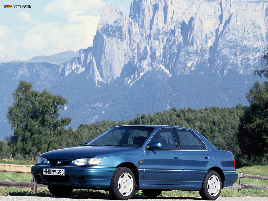 Hyundai Lantra (J1) 1993–95 wallpapers (1024 x 768)