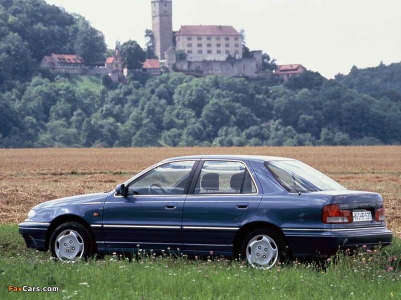 Hyundai Lantra (J1) 1993–95 wallpapers (800 x 600)