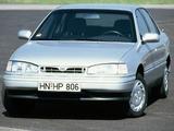 Images of Hyundai Lantra (J1) 1990–93