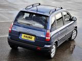 Photos of Hyundai Matrix UK-spec 2005–08