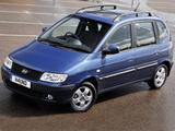 Pictures of Hyundai Matrix UK-spec 2005–08