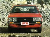Hyundai Pony 1975–82 pictures