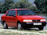 Hyundai Pony Sedan (X2) 1990–94 photos