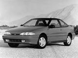 Hyundai S Coupe Turbo US-spec 1992–95 photos