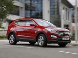 Hyundai Santa Fe UK-spec (DM) 2012 photos