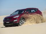 Hyundai Santa Fe AU-spec (DM) 2012 pictures