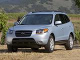 Hyundai Santa Fe US-spec (CM) 2006–09 photos