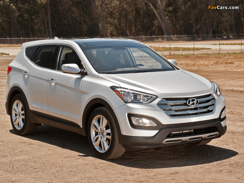 Photos Of Hyundai Santa Fe Sport Awd Us Spec 2013 800x600