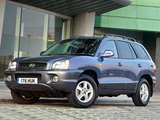 Photos of Hyundai Santa Fe UK-spec (SM) 2000–04