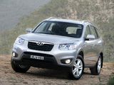Pictures of Hyundai Santa Fe AU-spec (CM) 2009–12