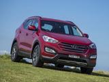 Pictures of Hyundai Santa Fe AU-spec (DM) 2012