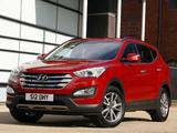 Pictures of Hyundai Santa Fe UK-spec (DM) 2012