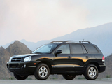 Pictures of Hyundai Santa Fe US-spec (SM) 2004–06