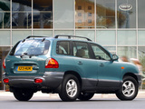 Hyundai Santa Fe UK-spec (SM) 2000–04 wallpapers