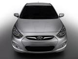 Hyundai Solaris (RB) 2010 pictures