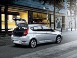 Hyundai Solaris Hatchback (RB) 2011 images