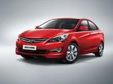 Pictures of Hyundai Solaris (RB) 2014–17