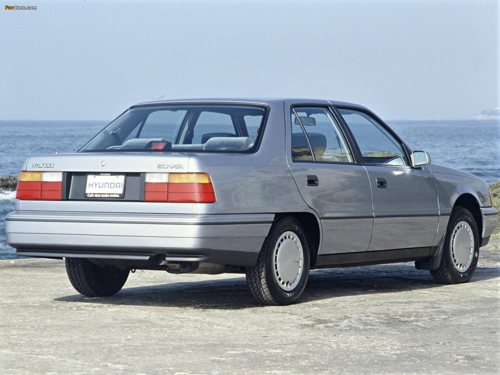 Hyundai Sonata (Y2) 1988–93 wallpapers (1600 x 1200)