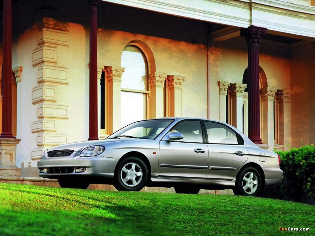 Hyundai Sonata (EF) 1998–2001 pictures (1024 x 768)