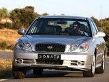 Hyundai Sonata (EF) 2001–04 images