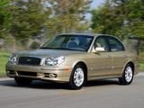 Hyundai Sonata US-spec (EF) 2001–04 wallpapers