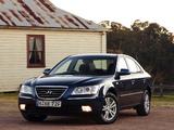 Hyundai Sonata AU-spec (NF) 2008–10 pictures