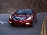 Hyundai Sonata US-spec (YF) 2010 images
