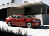 Hyundai Sonata US-spec (YF) 2010 wallpapers