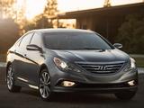 Hyundai Sonata US-spec (YF) 2013 images