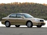 Images of Hyundai Sonata AU-spec (EF) 2002–05